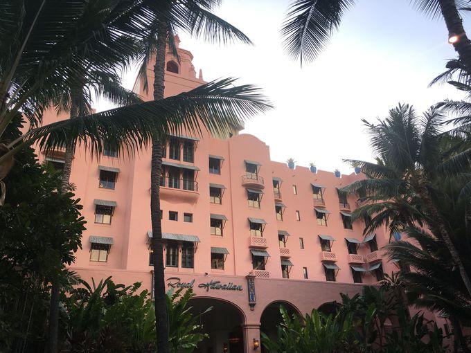 ピンクの世界に可愛いが止まらない!「ロイヤルハワイアンホテル」