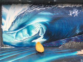 インスタ映えを狙っちゃえ!ハワイ・ハレイワタウンの壁アートが熱い!