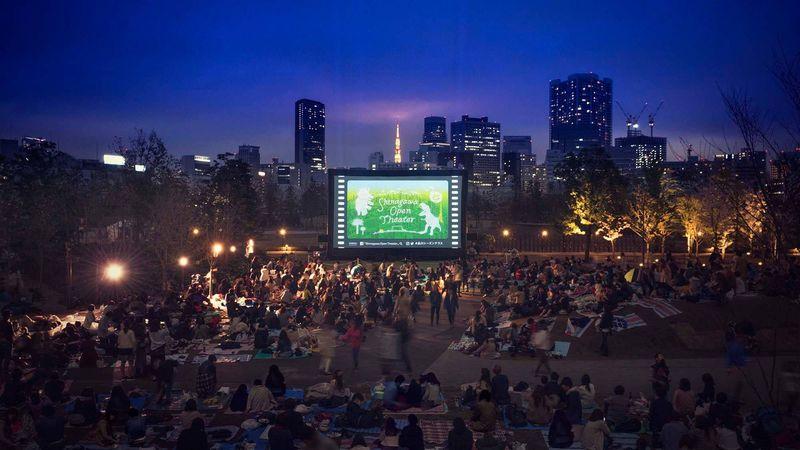 開催決定!屋外で映画鑑賞を楽しむ「品川オープンシアター」