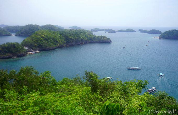 アイランド・ホッピングの主な島々