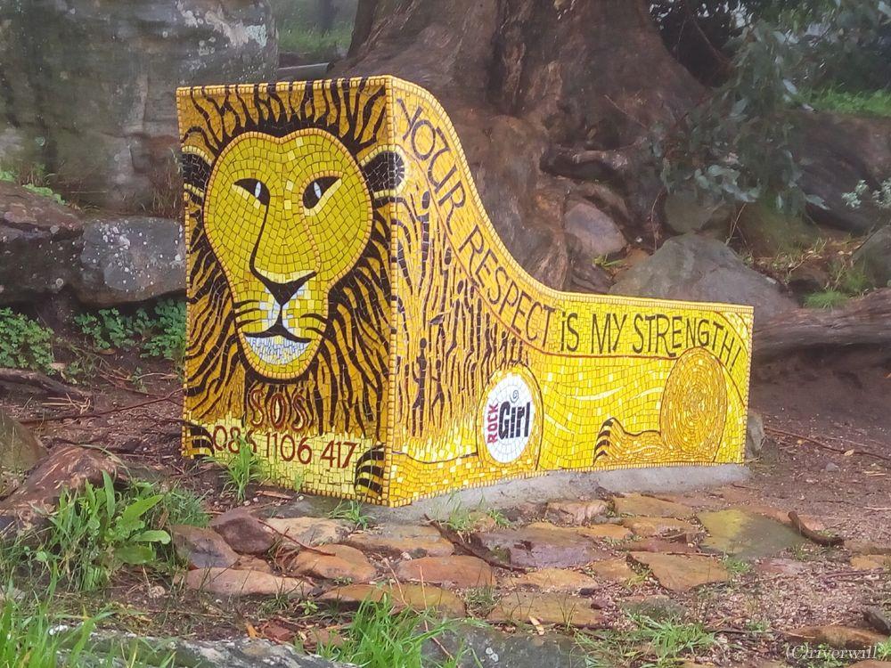 ケープタウンのシンボルの一つ「ライオンズヘッド」