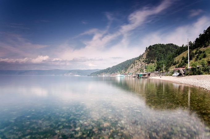 三大世界一の称号を持つバイカル湖