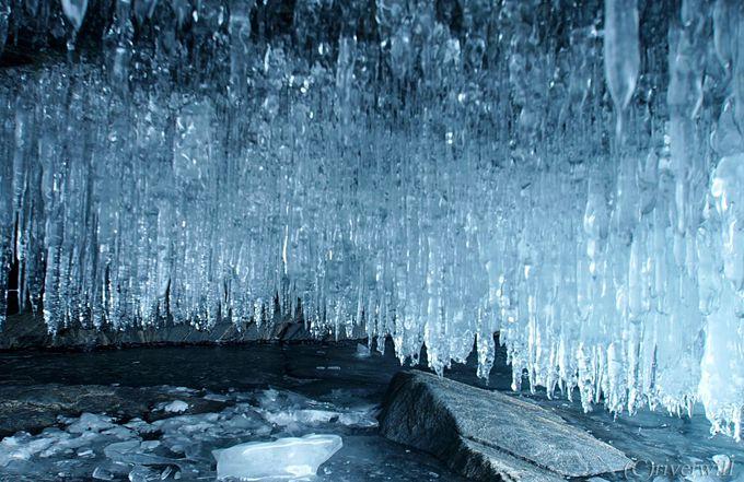 まるでアナ雪の世界!氷の芸術に息を呑む