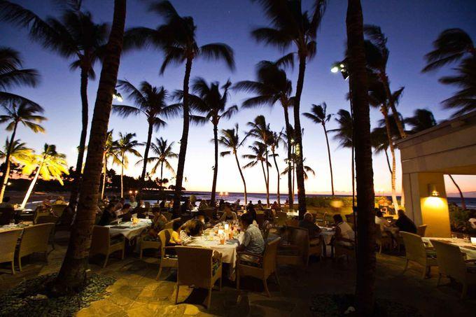 ハワイでのレストラン編