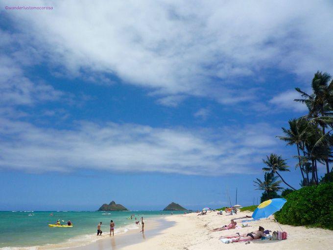 ハワイのビーチ編