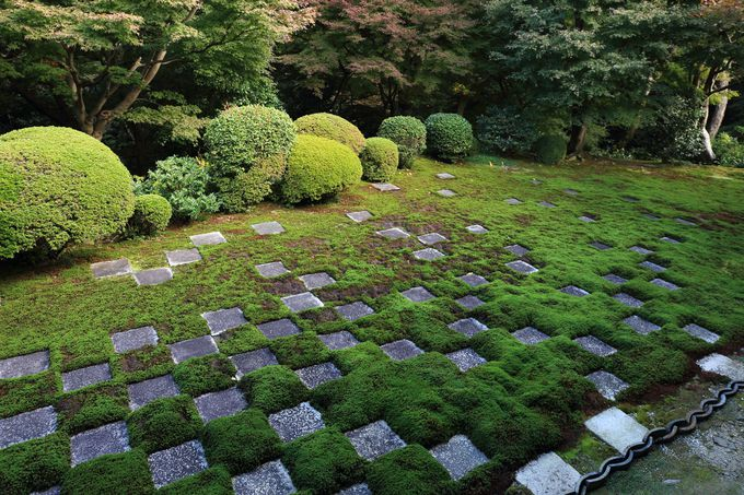 日本庭園の4大要素