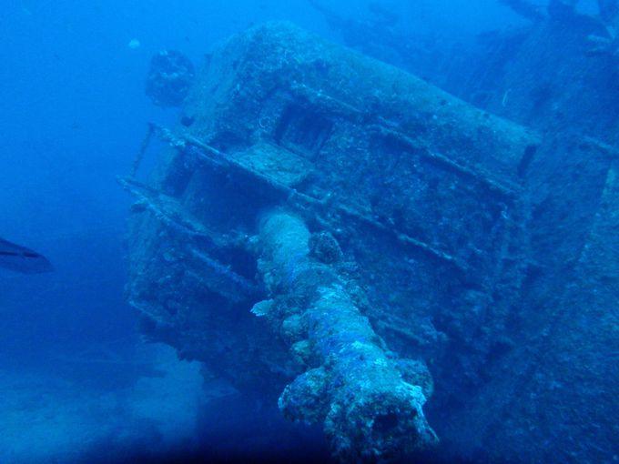 レック(沈船)ダイビングでの最低限のマナー