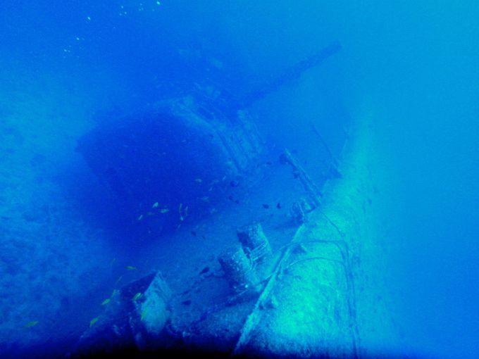 レック(沈船)ダイビングをする上での注意点