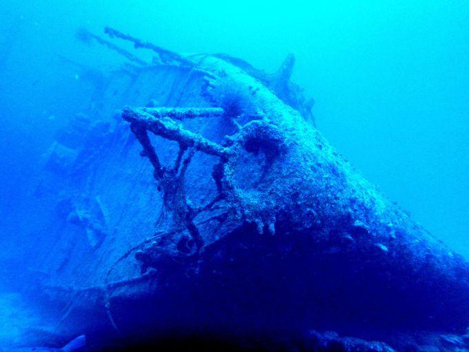 レック(沈船)ダイビングの魅力
