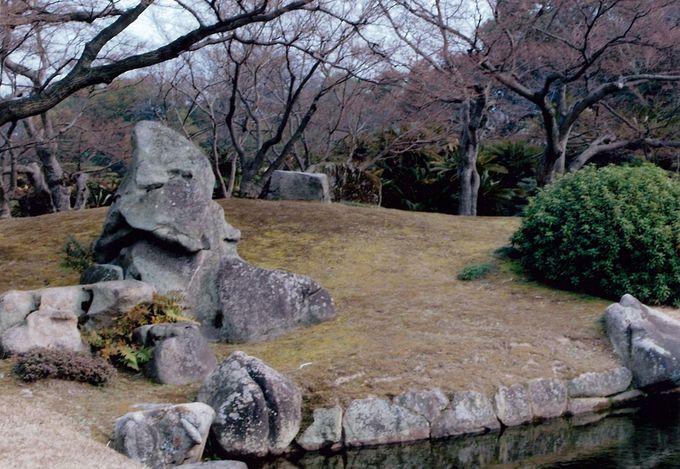 想いが凝縮、日本庭園の庭石