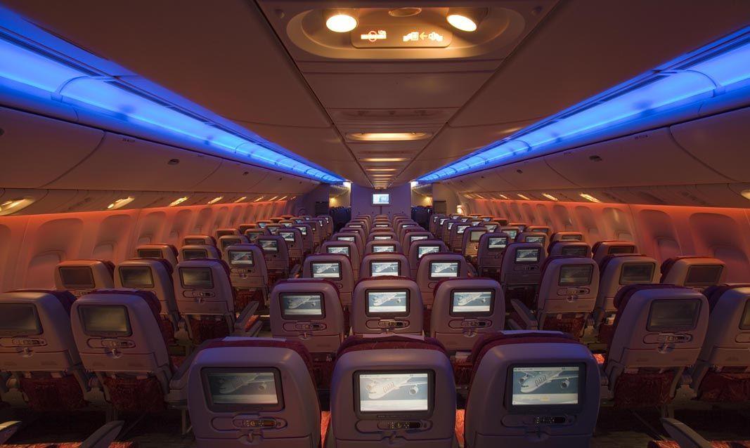 カタール航空はエコノミークラスも一流のサービス