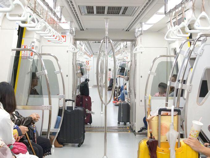 桃園MRT空港線は旅行者にとって便利