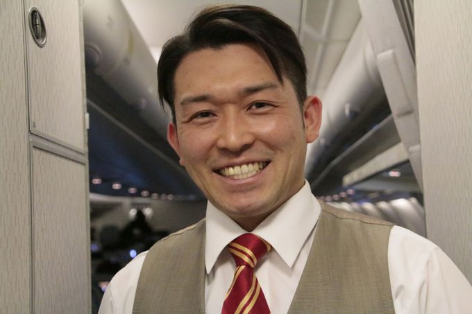 香港在住の日本人乗務員が乗務