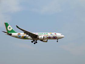 ハローキティジェットで一躍有名!エバー航空のフライトが楽しい理由