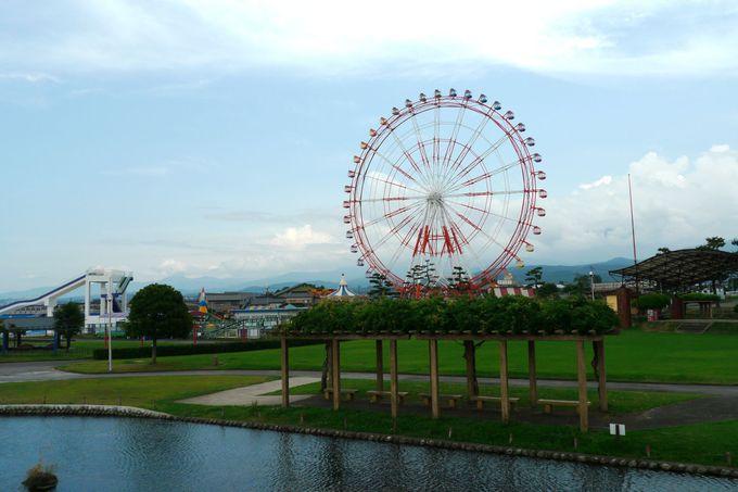 日本海側最大級の大観覧車から絶景を!「ミラージュランド」