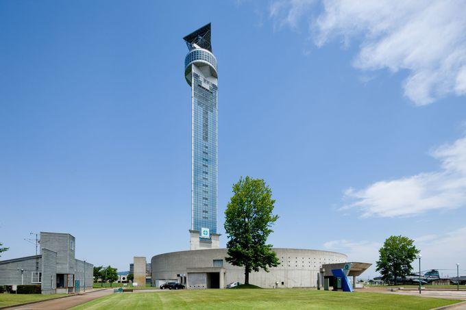 のどかな風景と大自然を眺めるなら「クロスランドタワー」