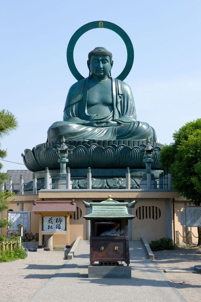 高岡のシンボル「高岡大仏」の大きさに圧倒!