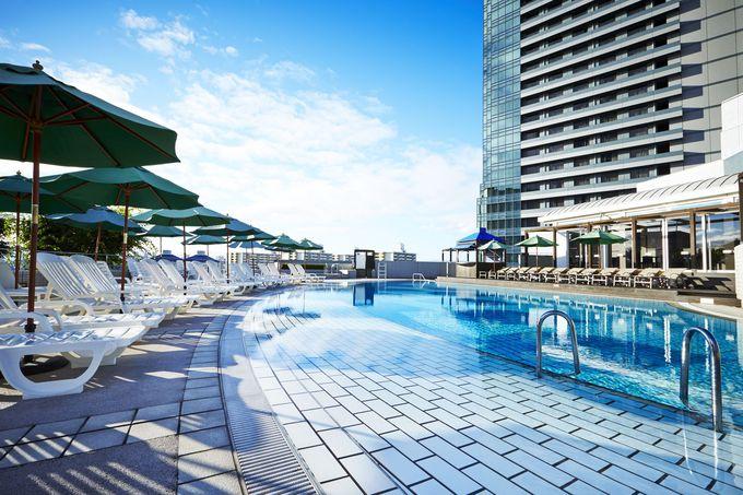 海風を感じられる屋外プールが魅力の「ハイアット リージェンシー 大阪」