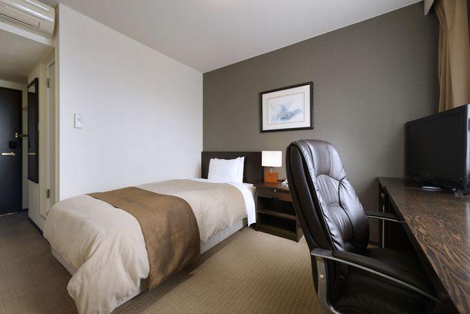 リラックスできる部屋が魅力「ホテルシーラックパル仙台」