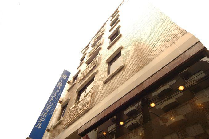 モダンな雰囲気が魅力の「上野ファーストシティホテル」
