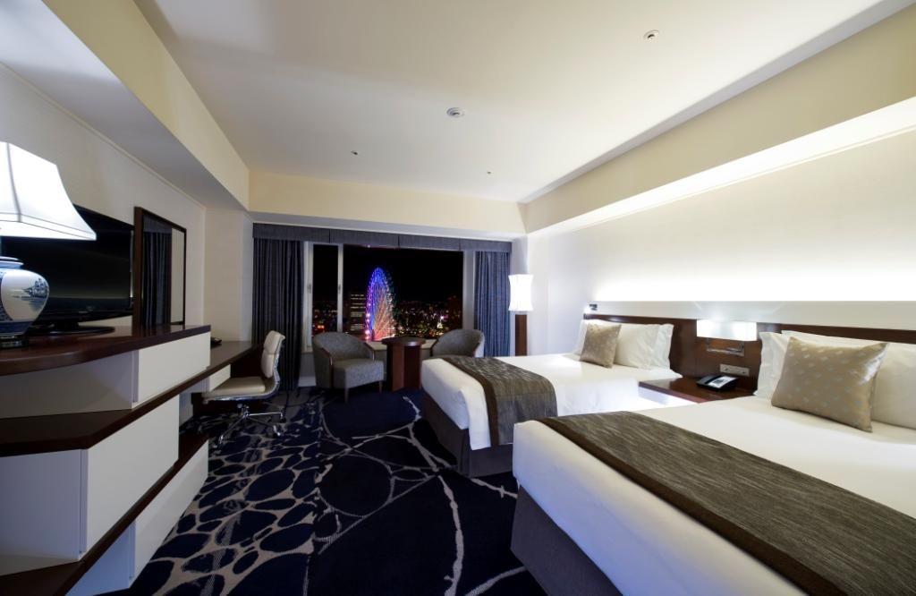 絶景を望む客室で優雅なステイが満喫できる「ヨコハマ グランド インターコンチネンタル ホテル」
