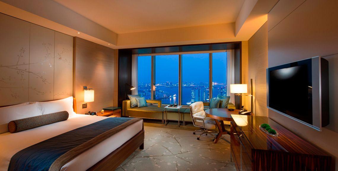 ホテルの格式と和モダンが融合した客室が広い「コンラッド東京」