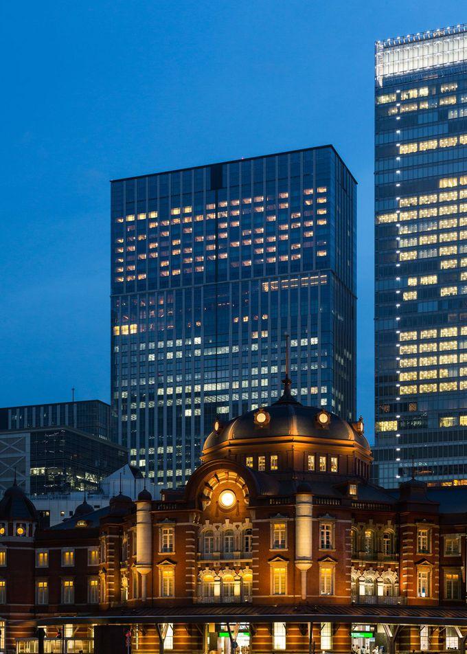 東京の町並みと自然が調和した「シャングリ・ラ ホテル 東京」