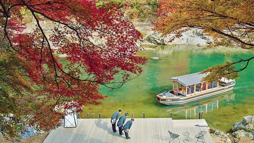 のんびりとした時間が流れる「星のや京都」