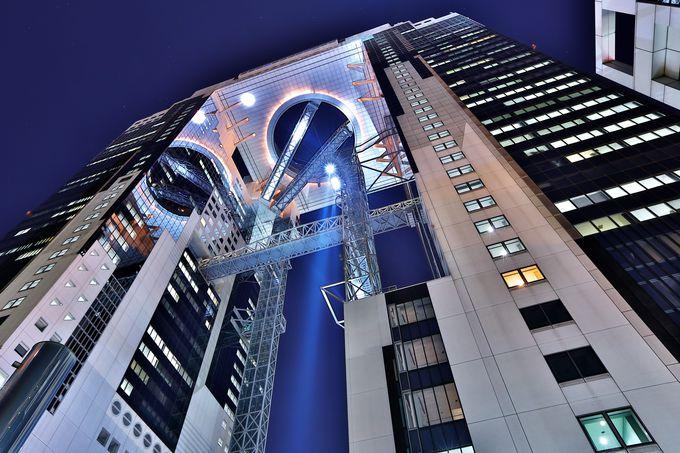 幻想的な夜景を高層階から眺められる「ウェスティンホテル大阪」