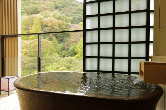 新宿から電車1本で行ける「箱根湯本温泉 月の宿 紗ら」
