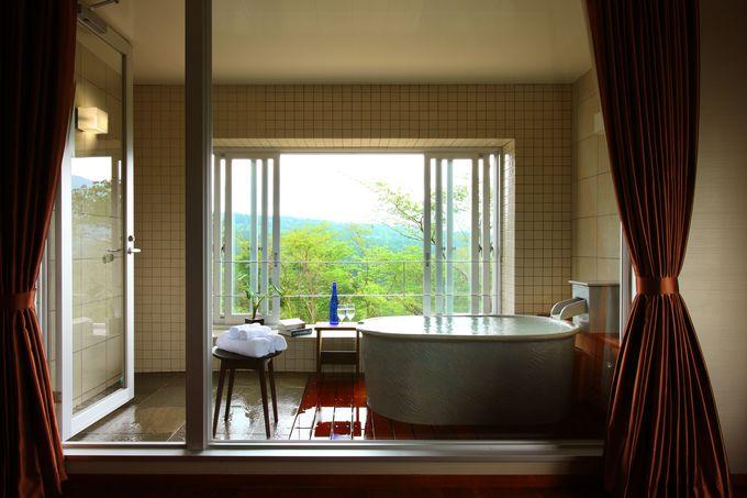 全室が天然温泉露天風呂付きの「オーベルジュ 箱根フォンテーヌ・ブロー仙石亭」