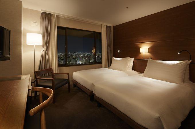 自然の広がる客室がある「アゴーラ福岡山の上ホテル&スパ」