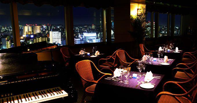 天神の夜景を眺めながら食事とお酒を楽しめる「ソラリア西鉄ホテル」