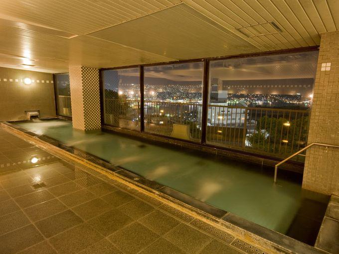 オーシャンビューの部屋から見る夜景が絶景!「稲佐山観光ホテル」