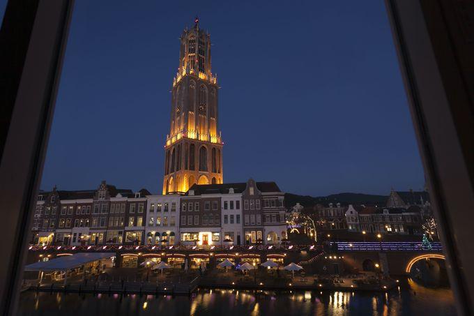 窓から見える美しい風景!「ホテルヨーロッパ」
