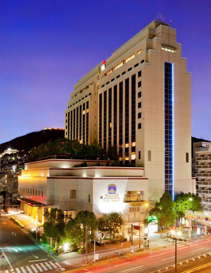 最上階のレストラン&バーから見る夜景が素晴らしい「ベストウェスタンプレミアホテル長崎」