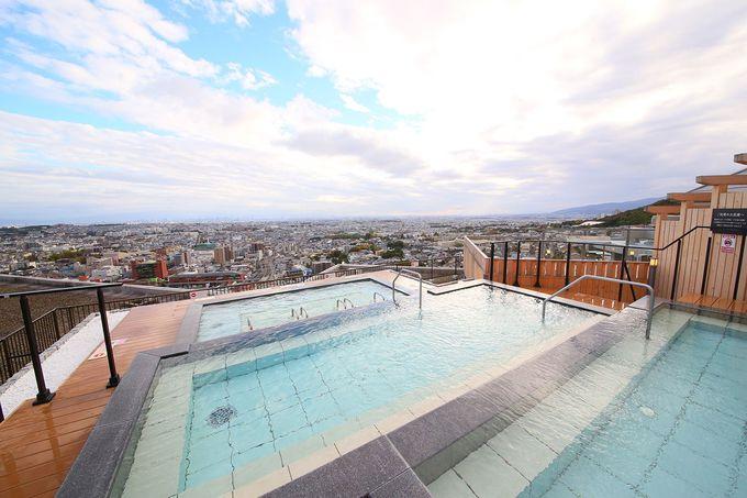 天空にそびえる、規格外の温泉体験ができる「大江戸温泉物語 箕面温泉 箕面観光ホテル」