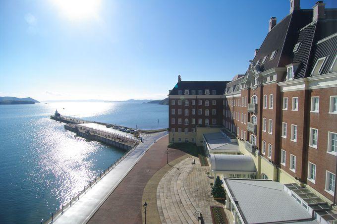 雄大な大村湾のパノラマが美しい「ウォーターマークホテル長崎・ハウステンボス」
