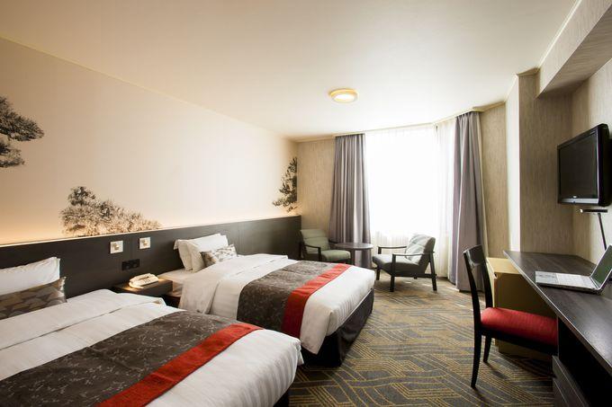 金沢らしい武家文化のもつ「風雅さ」と「機能美」がコンセプトの「金沢東急ホテル」