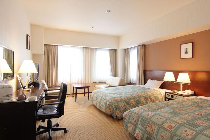 広々とした客室と景色の良さが魅力の「金沢国際ホテル」