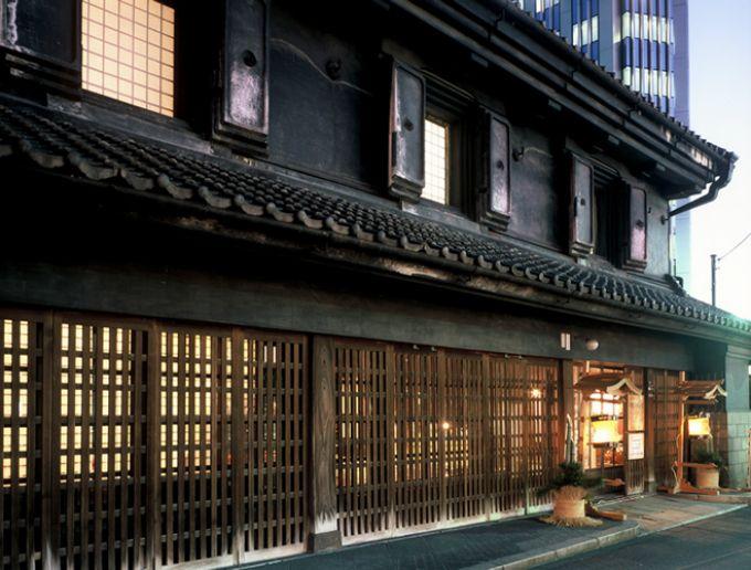 JR宇都宮駅前にある重要文化財「旧篠原家住宅」