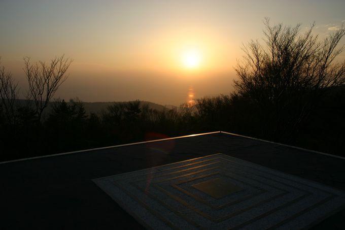 小豆島唯一の高原から眺める「美しの原高原 四方指展望台」