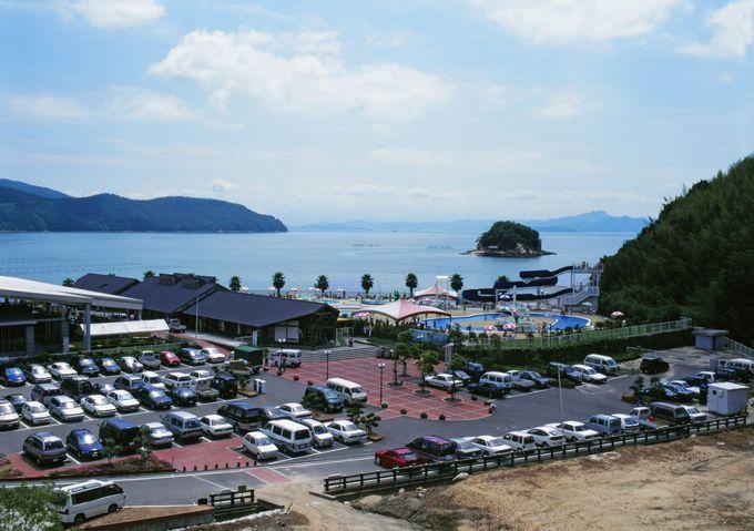 遊びも買い物も宿泊も全部楽しめる「小豆島ふるさと村」