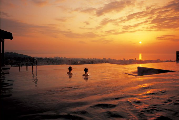 温泉だけが魅力じゃない!?「杉乃井ホテル」のイルミネーションが凄い!