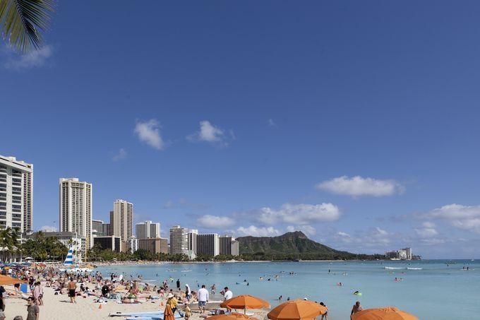ハワイといえばここ!ワイキキビーチ