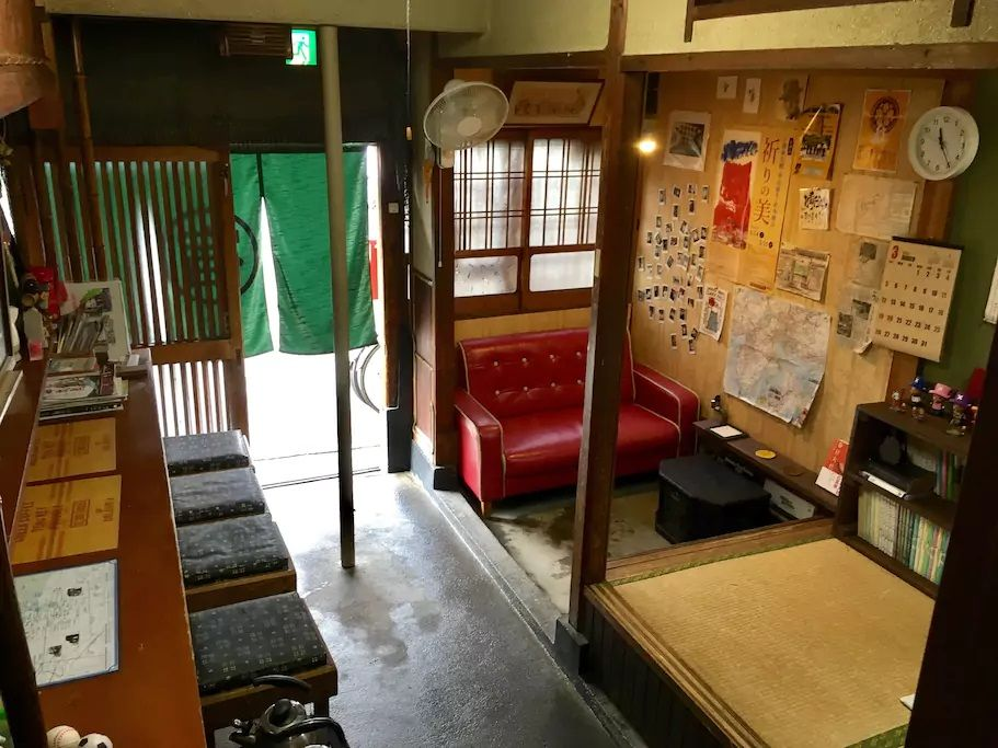 5.ならまちで町屋のゲストハウスに宿泊/奈良市