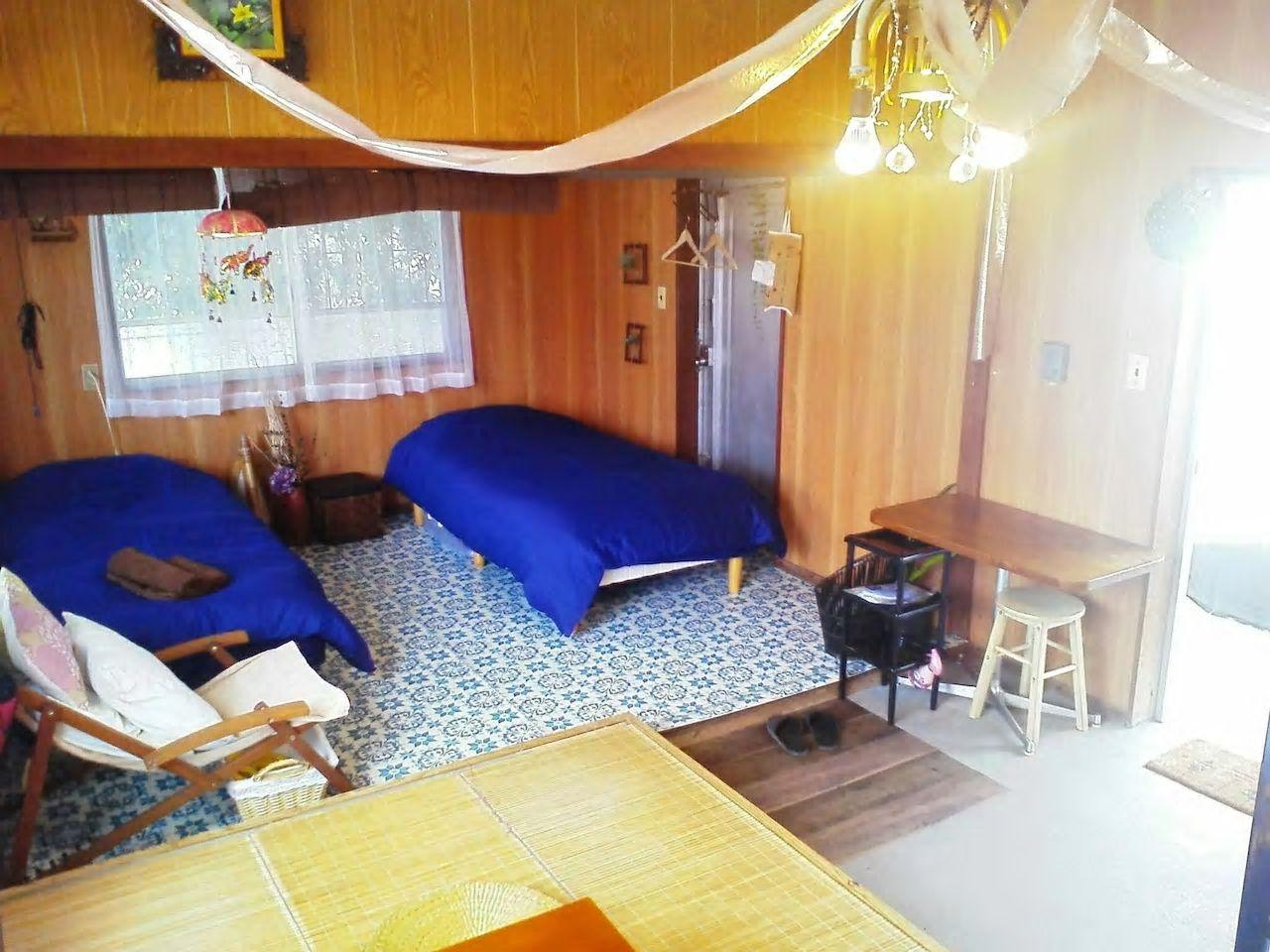 4.海にも近く、ガジュマルの木陰をイメージしたお部屋/読谷村