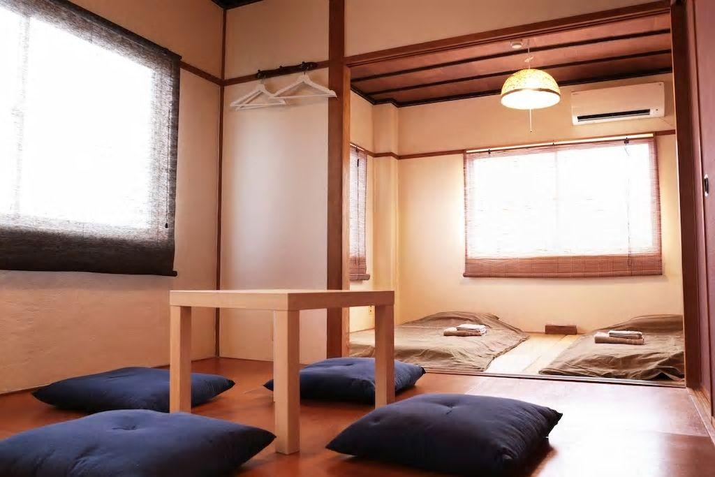 畳敷き和室で5名までOK!タクシーでUSJまで10分/大阪市