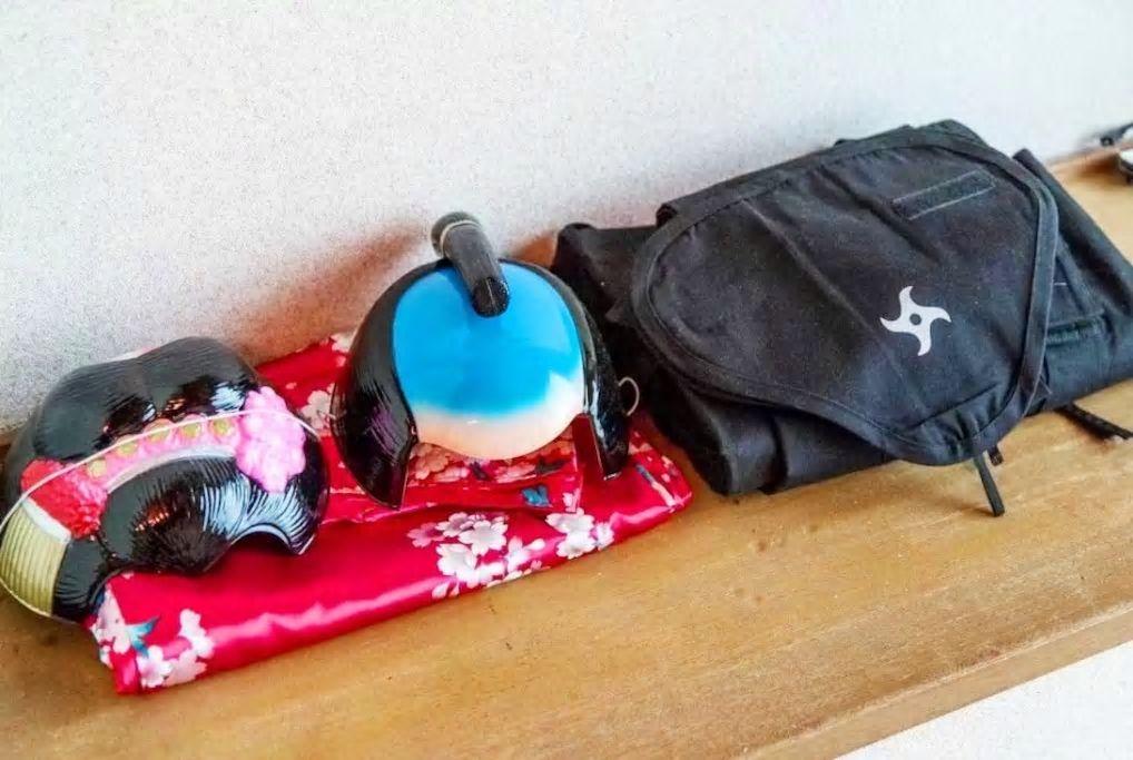 忍者や侍、芸者に変身!コスプレができる楽しい民泊/京都市