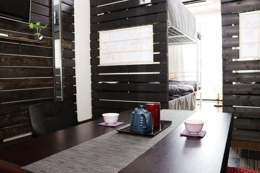 2段ベッド×2で4名まで宿泊OK/大阪市